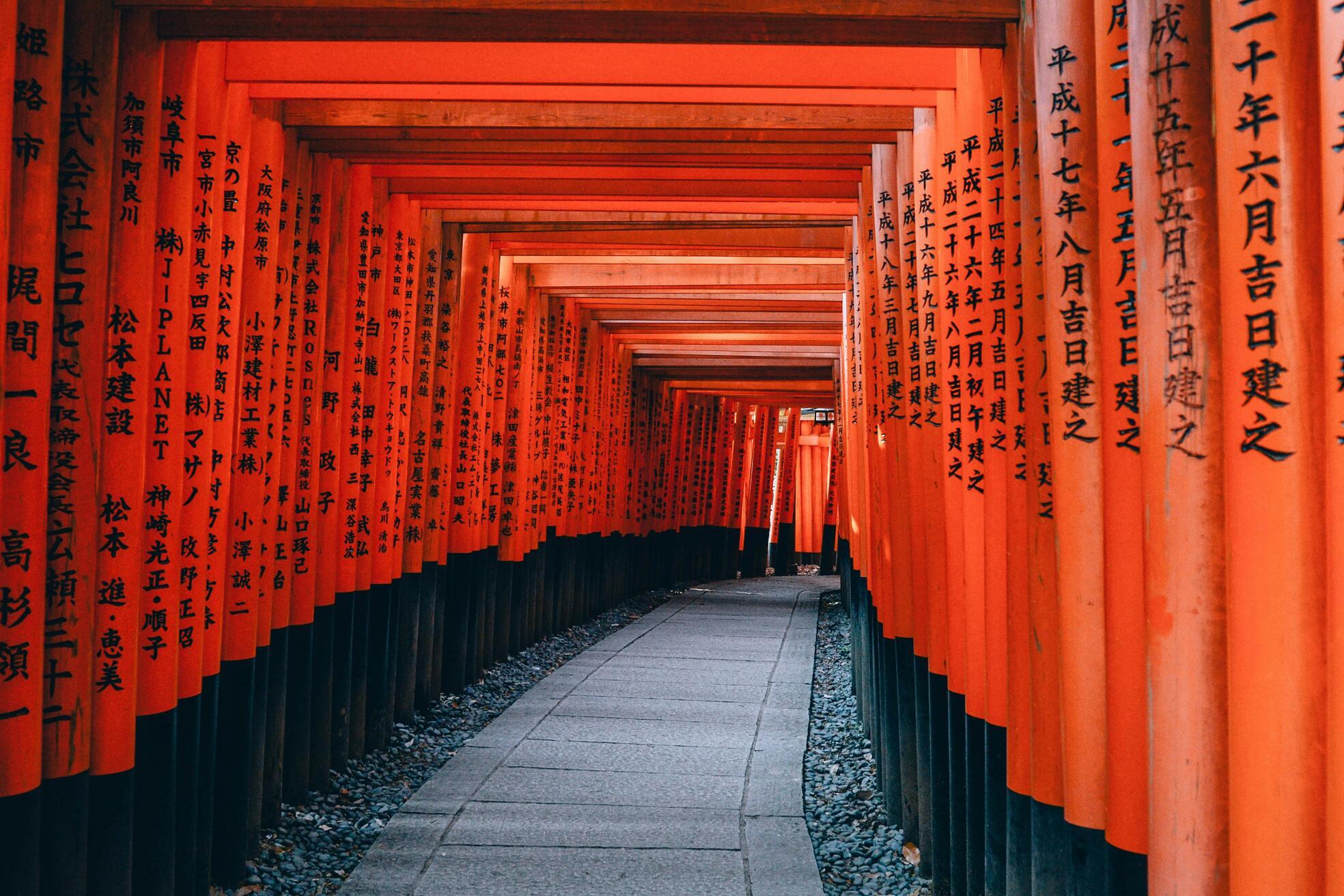 Fushimi Inari in Kyoto | Escorted Japan Tours with Kintetsu